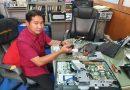 ซ่อมเครื่องคอมพิวเตอร์งานศูนย์ข้อมูลสารสนเทศ